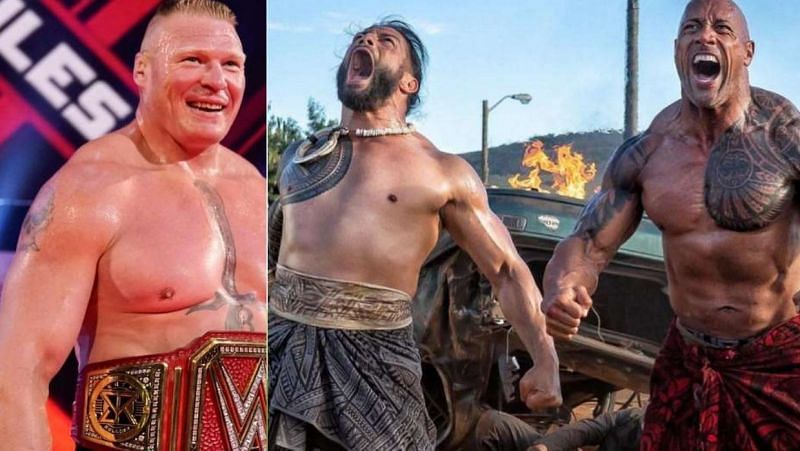 Roman Reigns; Brock Lesnar
