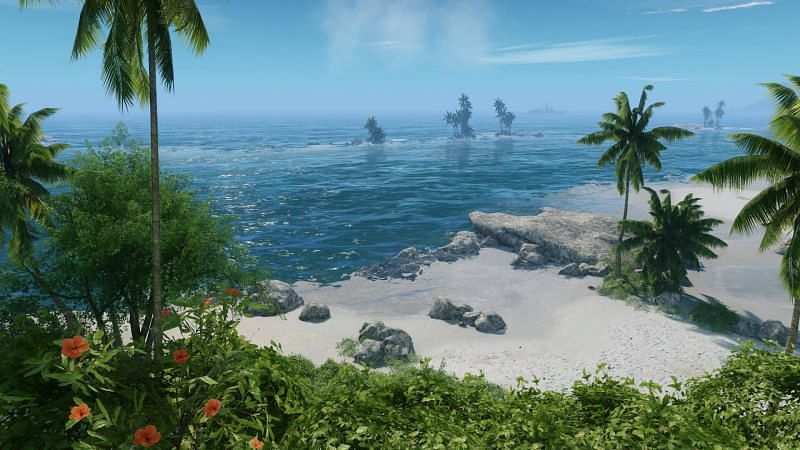 """The developers will include a brand new graphical setting called """"Can it Run Crysis?"""" in Crysis Remastered (Image Credit: Epic Game Store)"""