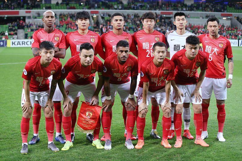 Guangzhou Evergrande will face Jiangsu Suning on Thursday