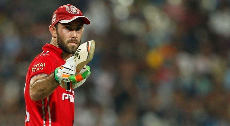 Glenn Maxwell could pose a threat to the RCB bowlers in tonight
