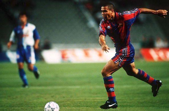 Ronaldo Nazario had one of the finest debut seasons for Barcelona.