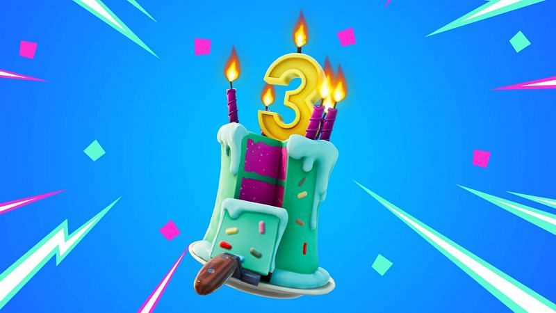 3rd Fortnite Locations Cake Birthday