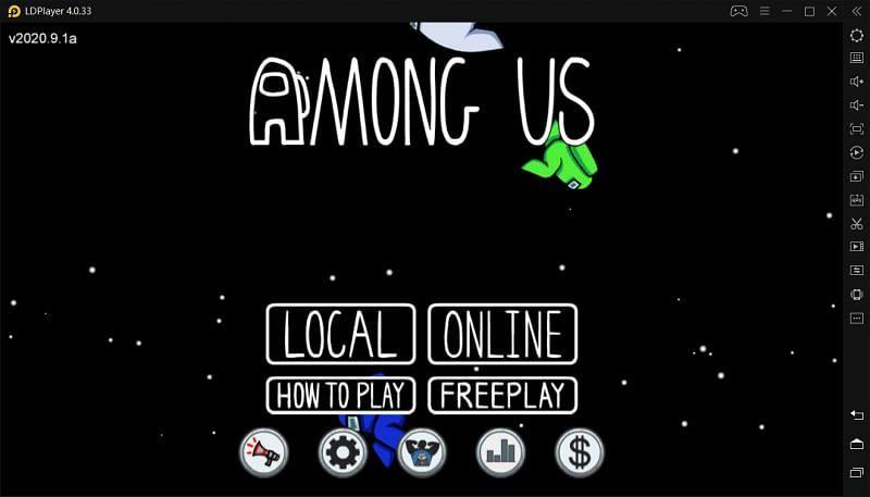 Among Us on PC using LDPlayer (image credits: ldplayer.net)