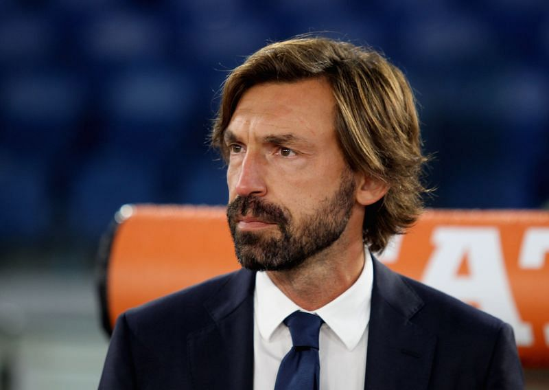 Juventus manager Andrea Pirlo