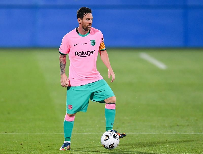 Lionel Messi scored a brace in Barcelona