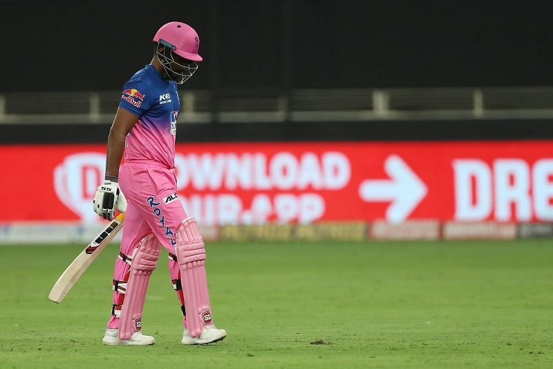 Samson failed for the first time in IPL 2020 [PC: iplt20.com]