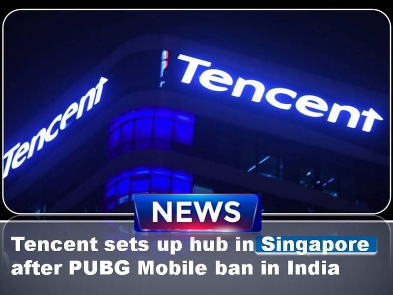 Tencent will set up a hub in Singapore