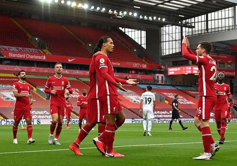 Liverpool got their title defence underway with victory over Leeds United