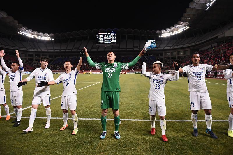 Shanghai Shenhua will face Shandong Luneng on Wednesday
