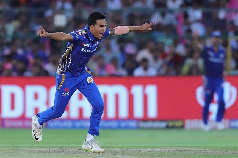 Rahul Chahar is likely to be a key member of the Mumbai Indians spin attack in IPL 2020