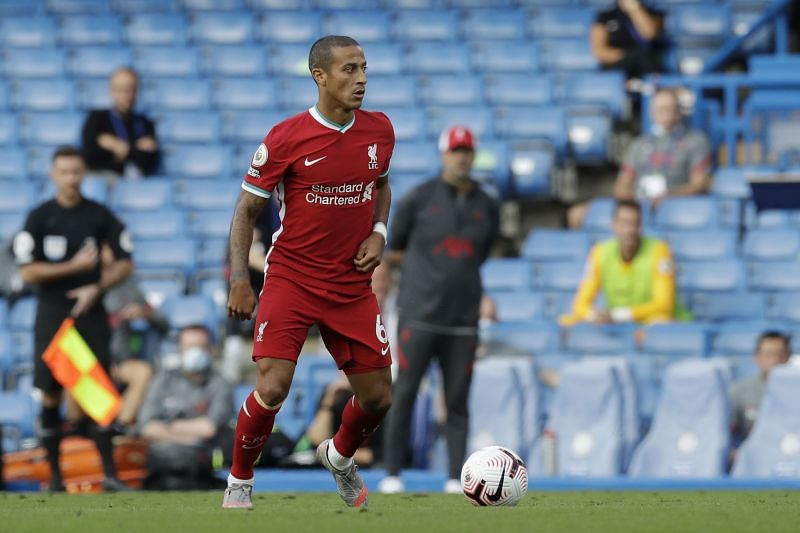 Liverpool star Thiago on his debut