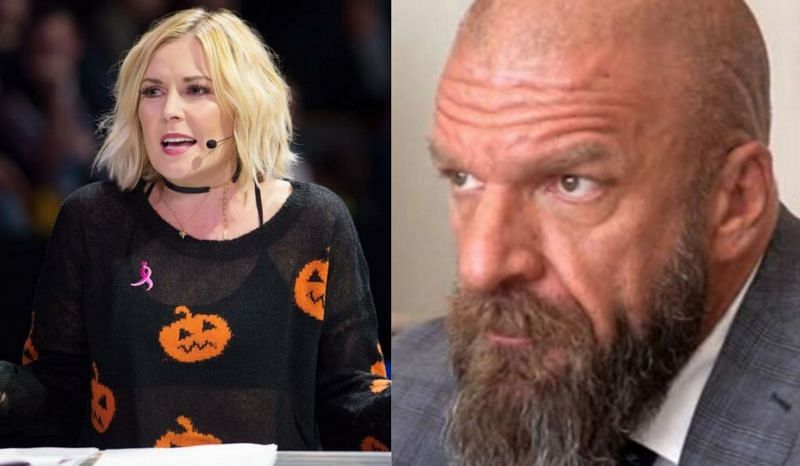 Renee Young has left her position in WWE; Triple H
