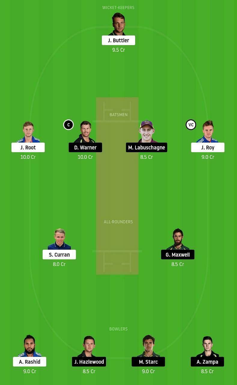 ENG vs AUS 3rd ODI Dream11 Tips