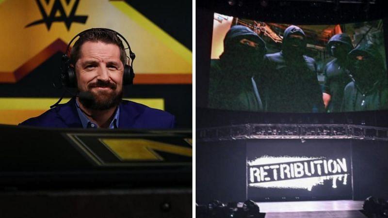 Wade Barrett and RETRIBUTION?