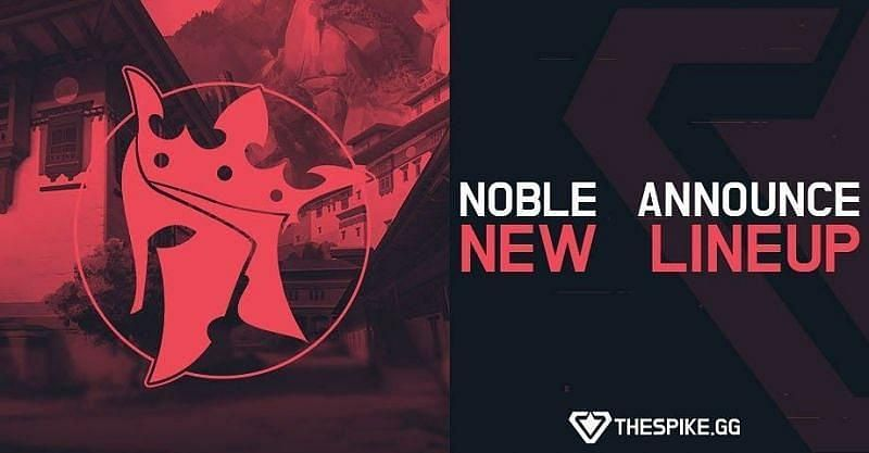 Noble Esports announces their Indian Valorant roster (image credits: TheSpike.GG)
