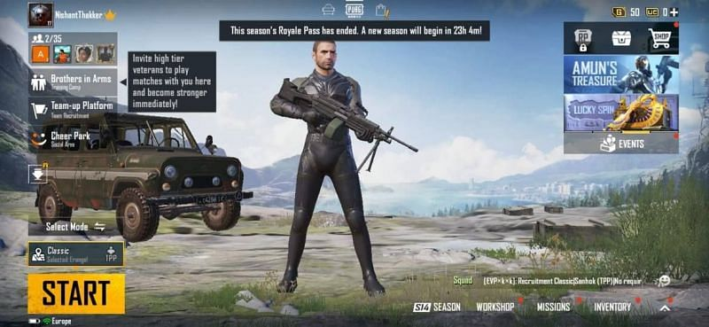 PUBG Mobile Season 15 is officially releasing on 15th September