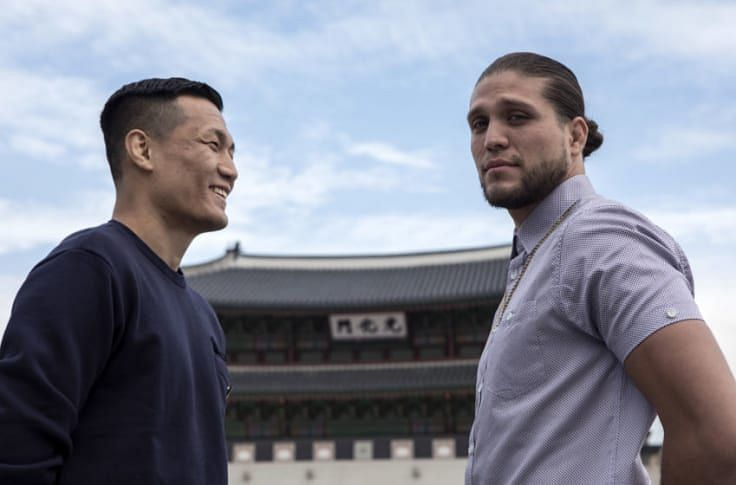 Brian Ortega and Chan Sung Jung are no longer cordial with one another as they were in 2019