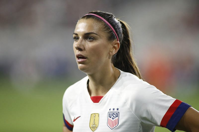Alex Morgan is one of the respected figures in world football