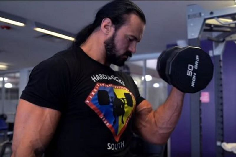 Drew McIntyre is the current WWE Champion