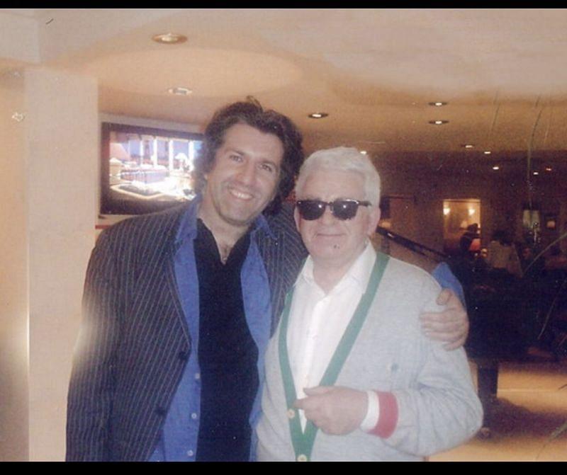 With Boris Spassky. Credits- Julian Paix Photography