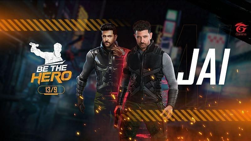 Free Fire: Jai character changed in the OB24 update