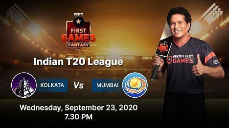 Kolkata v Mumbai Paytm Fantasy Predictions