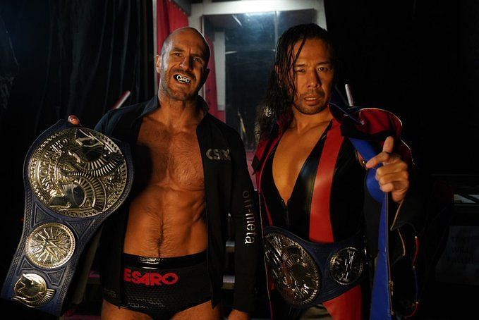 The SmackDown Tag Team Champions are on a roll