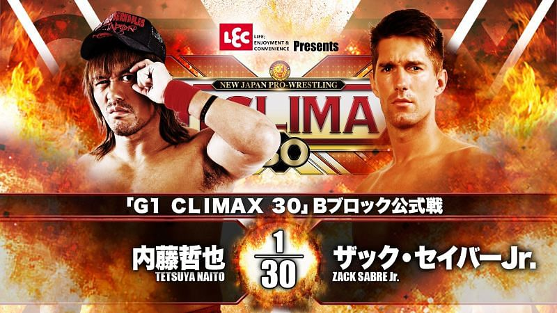 B Block of the G1 Climax 30 is back for Night 4 with Naito vs. ZSJ in the main event.