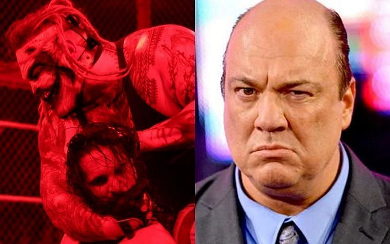 Paul Heyman had something to say about The Fiend on The Bump