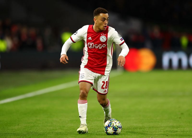 Ajax are set to let Sergino Dest leave this summer