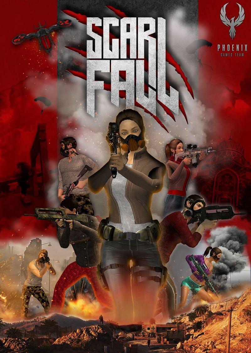 ScarFall: The Royale Combat. Image: ScarFall Wiki - Fandom.