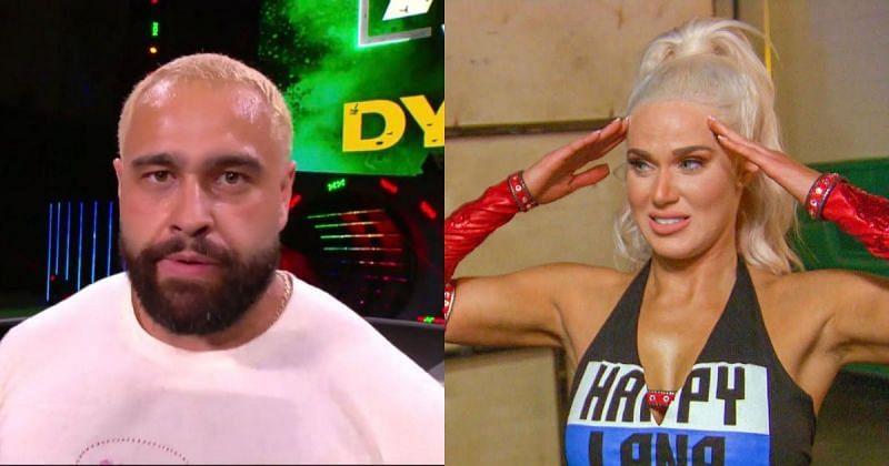 前WWE巨星鲁瑟夫加入AEW!妻子拉娜发文庆贺