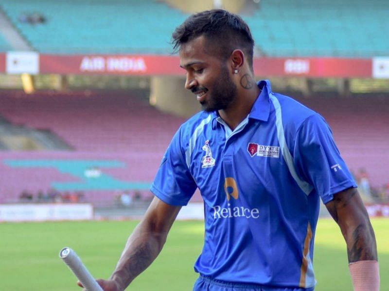 Hardik Pandya had made a fantastic comeback to competitive cricket, scoring two centuries in the DY Patil T20 tournament