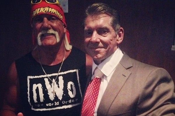 Why did Hulk Hogan leave WWE to sign for WCW?