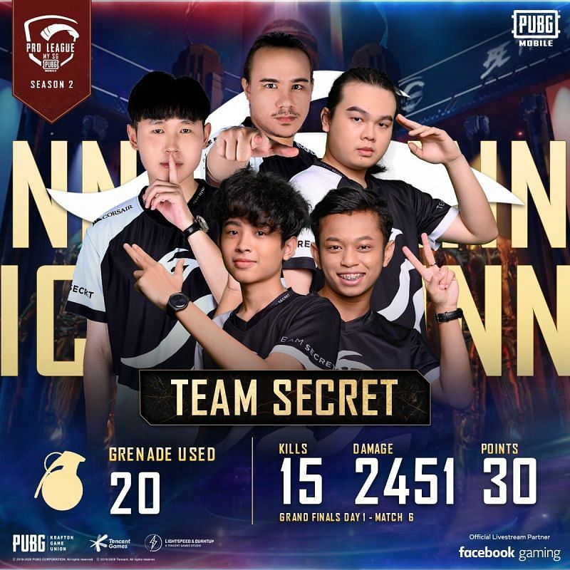 Team SMG also laid their hands on two Chicken Dinners at the PMPL Season 2 MY/SG Day 1