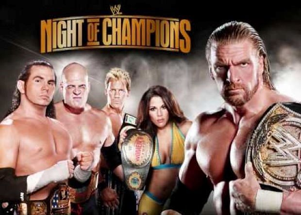 The first Night of Champions event took place in 2008.