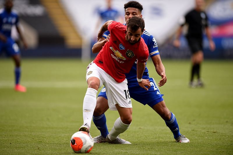 Bruno Fernandes has raised Manchester United