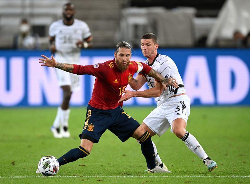 जर्मनी बनाम स्पेन - 1-1