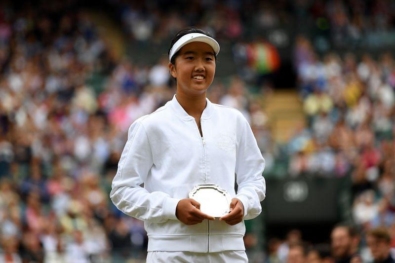 Ann Li was thrunner up in the 2017 Wimbledon Juniors