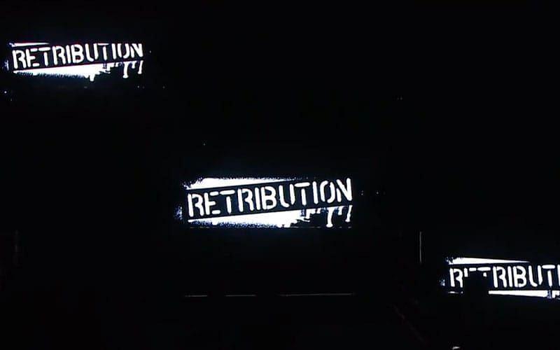 RETRIBUTION on WWE RAW