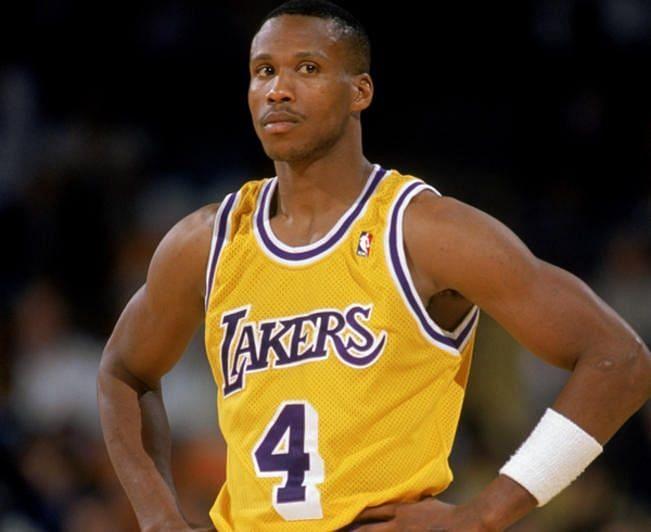 Byron Scott in Lakers uniform [Basketball Society]