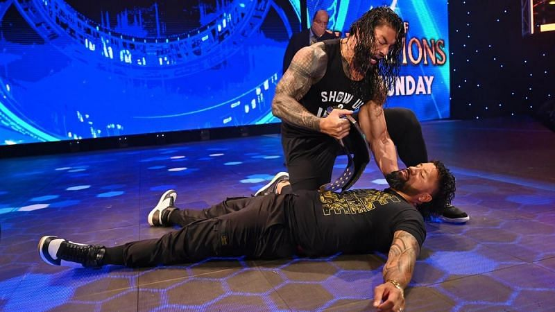 Jey Uso was attacked by Roman Reigns to close out this week