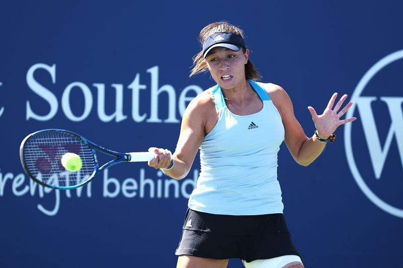 Jessica Pegula at the 2020 Western & Southern Open