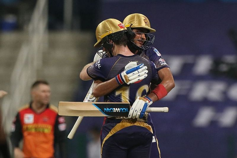 Gill and Morgan took KKR home against SRH [PC: iplt20.com]