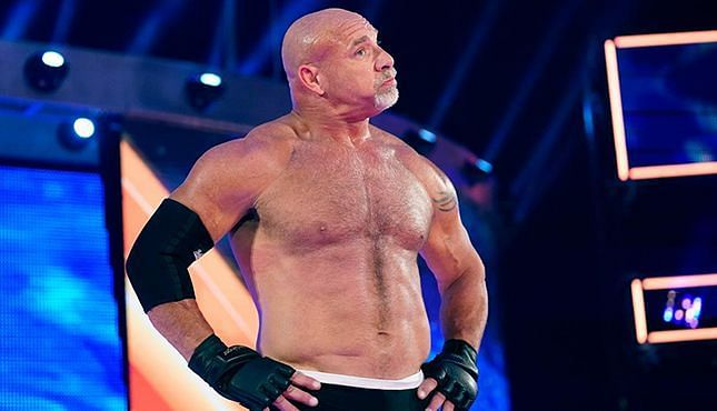 Goldberg did something he was not supposed to (Pic Source: WWE)