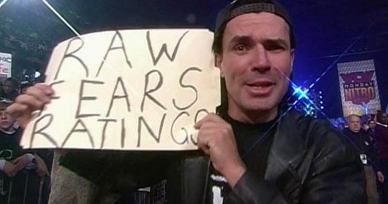 Eric Bischoff has opened up on wrestling companies removing certain fan signs