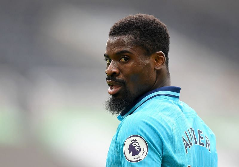 Serge Aurier is recovering from his injury