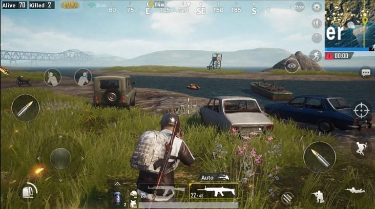 PUBG Mobile gameplay (Image credits: IGN Southeast Asia)