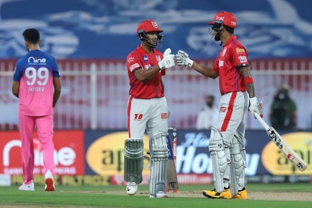 KL Rahul and Mayank Agarwal have been brilliant at the top for KXIP at IPL 2020