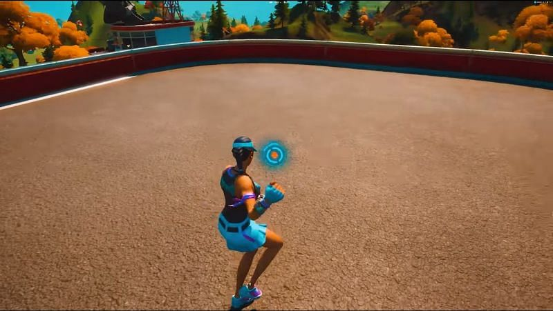Dual pickaxes become invisible in-game when this glitch is used in Fortnite (Image Credits: OrangeGuy/YT)